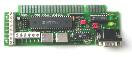 J-Pac PC to Jamma Interface!